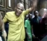 """Buhari Cannot Intimidate Me"" – Unbroken IPOB Leader, Nnamdi Kanu Creates Scene In Court"