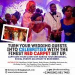 Let Your Guests Take the Spotlight At Your Wedding With Helen Event Blog Red Carpet Experience