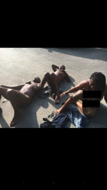 AH! See What Was Done To These Kidnappers Nabbed In Lagos (PHOTOS INSIDE)