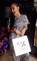 Wizkid's EX, Tania Omotayo Launches Clothing Line & Sells Out In ONE Day!