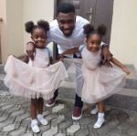 Photo Of The Day: Meet Timi Dakolo's Adorable Daughters