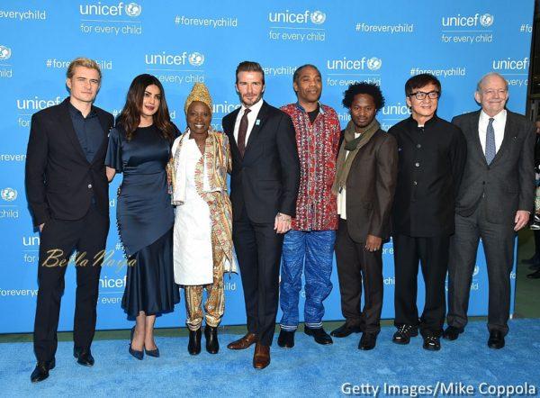 Femi Kuti joins David Beckham,  Angelique Kidjo, Jackie Chan & More at UNICEF's 70th Anniversary Event