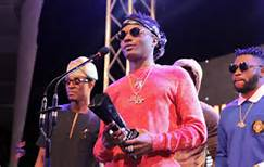 Tekno Continues Winning Streak At #SoundcityMVP Awards | Wizkid, Yemi Alade, Olamide Win Big Too