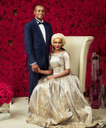 Meet Zahra Buhari's Handsome Beau, Ahmed Indimi In Their First Portrait Together