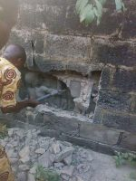 Sheer Evil! 12 Year Old Boy Buried Inside Wall Rescued In Ondo State