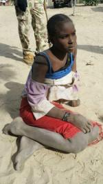 Nigerian Army Averts Major Catastrophe, Apprehends Female Suicide Bomber In Borno