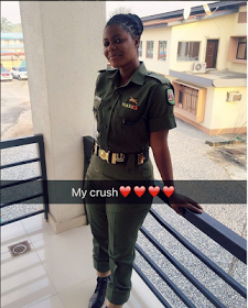 Can This Be A Nigerian Soldier? She Too Fine!