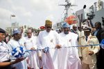 President Buhari Commissions Three Naval Ships, Two Of Which Are Made In Nigeria