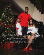 Joseph Yobo And Family Release Christmas Card