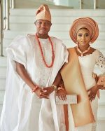 Photos From Stephanie Coker And Olumide Aderinokun's Traditional Wedding