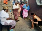 OMG! Naked Witch Found Crying In Residents Compound- MUST READ, Photos Included)