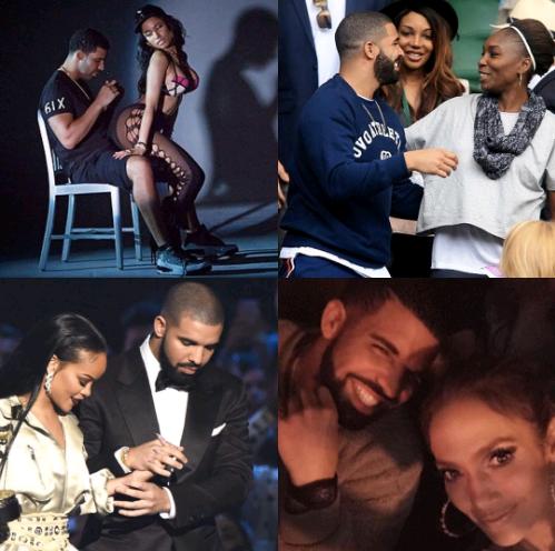 """Great Striker"" – Peter Okoye Hails Drake's Serial Back-to-Back Relationships With Nicki Minaj, Serena Williams, Rihanna And JLo"