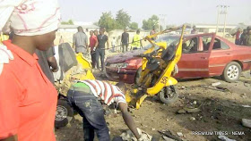 JUST IN: Adamawa Rocked By Two Simultaneous Explosions