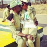 CAMP ROMANCE!!! Check Out These Two Corpers Caught Kissing In Public, WARNING: It Could Be Your Relative
