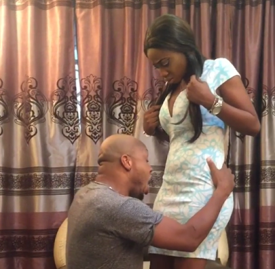 """""""Allow Me To Eat You"""" – Actor, Charles Okocha Desperately Begs Lady For 'cunninglingus' On Movie Set [Video]"""