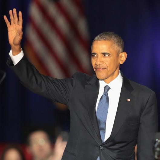 Celebrities, Social Media React To Powerful #ObamaFarewell Speech