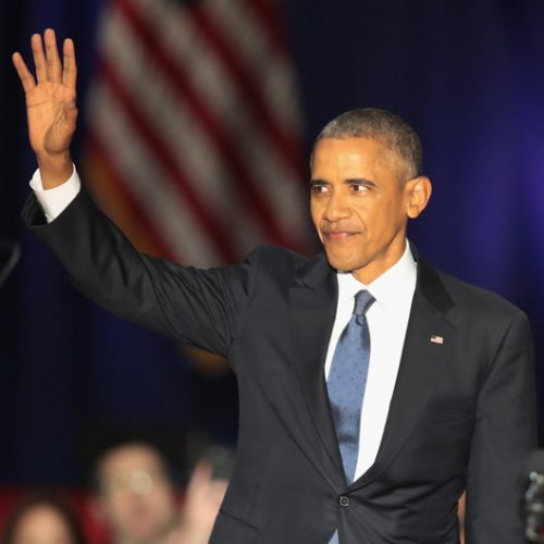 Goodbye Barack!  Obama Delivers Very Emotional Farewell Speech [FULL TEXT]