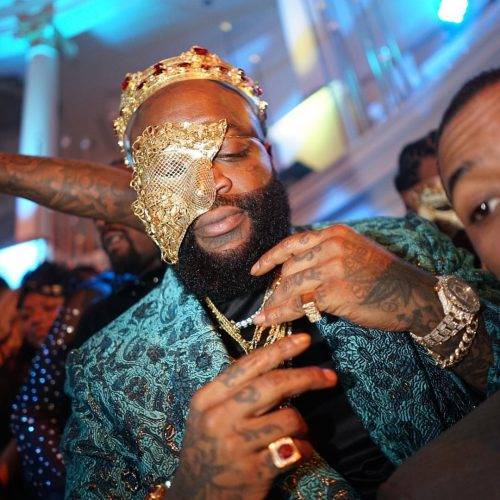BALLER!!! Check Out Rick Ro$$' Birthday Present Plus Other Photos From His Masquerade Party