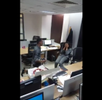 MUST WATCH! Access Bank's CEO, Herbert Wigwe Shares Clip Of Romantic Proposal At One Of Its Branches