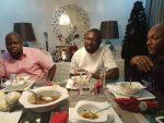 2face Idibia , Ayiri Emami, Bovi Hang Out At Star's Regal Mansion In Lagos [Photos]