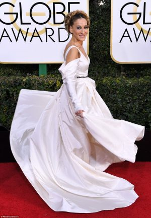 See How The Stars Dazzled At The 74th Golden Globes Awards + Full List Of Winners