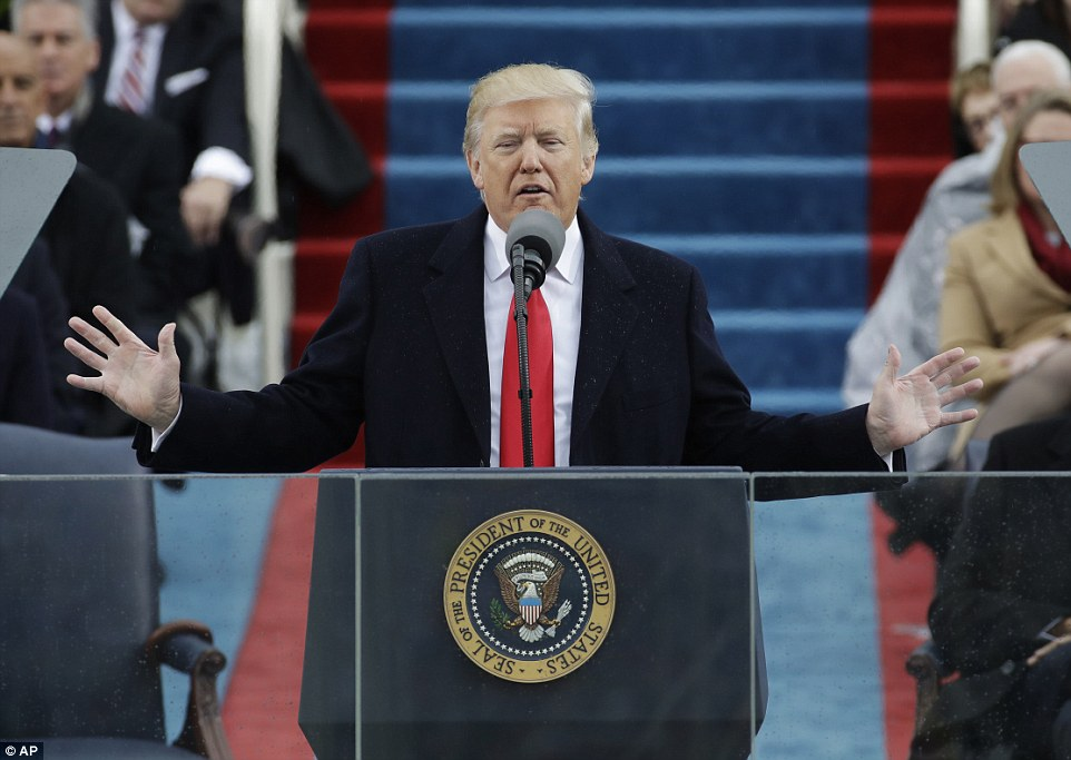 Full Text Of Donald Trump's Inaugural Speech