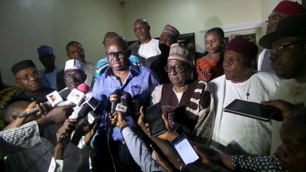 BREAKING: Gov. Ayodele Fayose Emerges New Chairman Of PDP Governors' Forum
