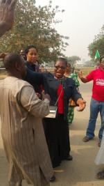 Oby Ezekwesili, Aisha Yesufu, BBOG Campaigners Return From Tour OF Sambissa Forest Unscathed [Photos]