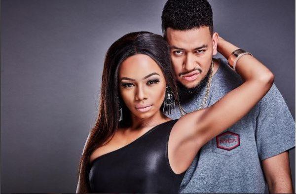 #GOALS!  Celebrity Couple, Bonang Matheba & AKA Smoulders In New Pictures