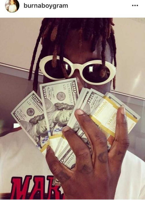 """""""Don't Call Me With Offers Less Than $50k"""" – Burna Boy Sounds Warning To Potential Clients"""