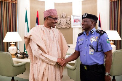 Police IG Idris Leads Police Delegation To Visit Buhari In London