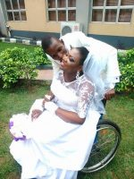 MUST READ! The Resilient Love Story Of This Nigerian Man And His Disabled Bride Will Melt Your Hearts