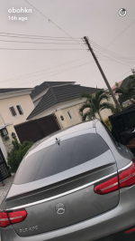 Davido Cops Another Monster Ride – A 2017 Mercedes GLE ! [Photos]