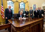 Donald Trump Signs Order Banning U.S From Funding NGOs In Support Of Abortion