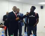 Mr Eazi Pays Courtesy Visit to Business Mogul, Tony Elumelu [Photos]