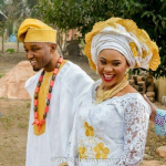 Pictures Of Edo State Politician & Bride Arriving His Wedding Venue In KEKE NAPEP!