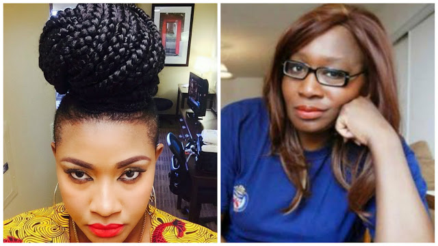 """""""You Will Die Untimely You Witch!"""" -Actress Angela Okorie Calls Out Journalist Kemi-Omololu Olunloyo"""