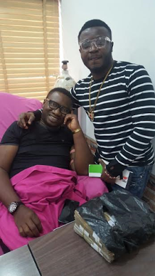 Heart Of Gold! MC Galaxy Gives N1 million To Emma Ugolee For Kidney Transplant