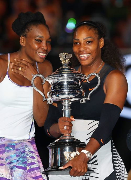 Serena Williams Beats Sister, Venus To Win Record 23rd Grand Slam In Emotionally Charged Match [Photos]