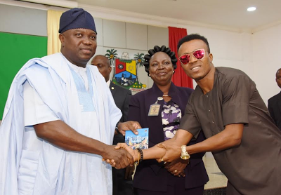 Ambode Applauds Humblesmith For Great Performance At State Event