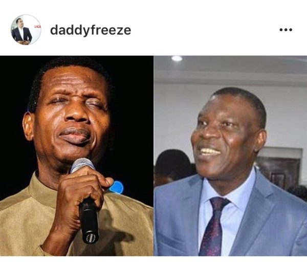 "'God Told Me About Pastor Adeboye's Retirement In 2016"" – Freeze"