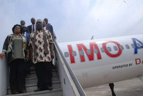 Imo State Launches State Airline, 'Imo Air' [Photos]