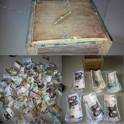 Can You Beat This?! Nigerian Lady Reportedly Saves N500,000 Using Piggy Bank 'Kolo'
