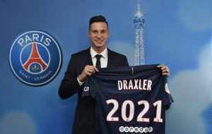 PSG Completes Signing Of Star Forward, Draxler