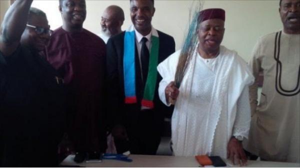 Photo: Former PDP Senator, Ken Nnamani Defects To APC