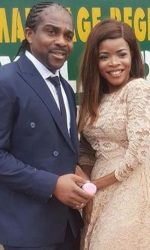 Laura Ikeji Weds Ogbonna Kanu In Lowkey Court Wedding [First Pictures]