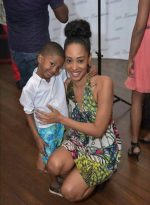 Maje Ayida The Sharp Shooter!  Pictures Of 2nd Baby Mama Surfaces Online With Her 5 Year Old Son