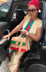 Hit Or Miss? Mercy Aigbe-Gentry Rocks Gucci Inspired Outfit [Photos]