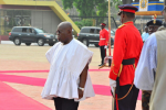 Ghana's President Nana Akufo Addo Resumes For First Day At Work In Simple Wear [Photos]