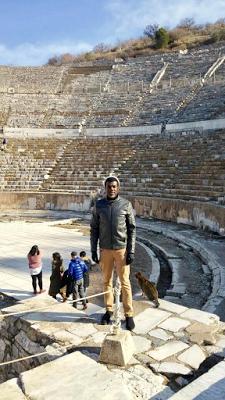 Reno Omokri Takes Adventurous Trip Down To Ancient City Of Ephesus [Photos]